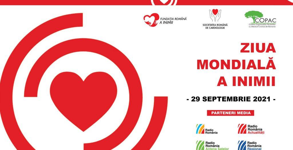 Ziua Mondială a Inimii – 2021   Bolile de inimă nu așteaptă! Mergi la medic!